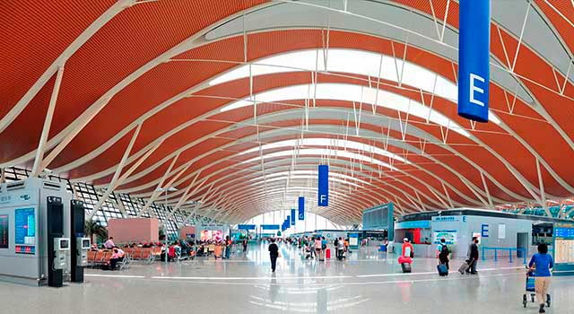 Pudong airport (PVG)